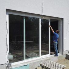 Posuvné terasové dvere