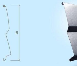 Vonkajšie horizontálne žalúzie Z90