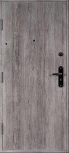 Dvere do bytu šedý dub
